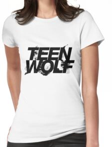teen wolf logo Womens Fitted T-Shirt