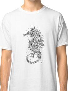 Sugar Skull Seahorse Classic T-Shirt