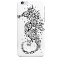 Sugar Skull Seahorse iPhone Case/Skin