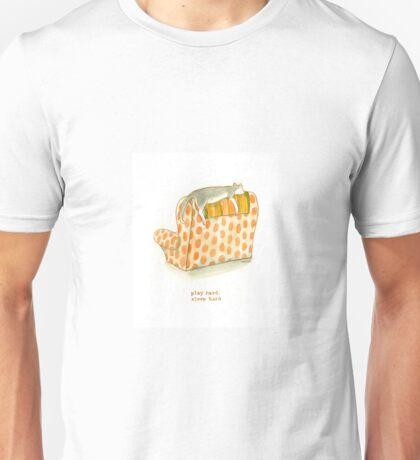 cattism 21: play hard, sleep hard Unisex T-Shirt