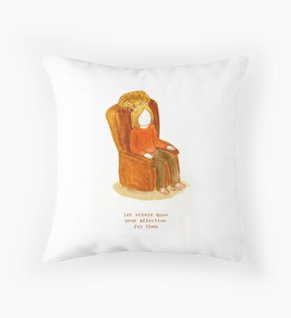 Cattism 28: Let Others Know Your Affection For Them Throw Pillow
