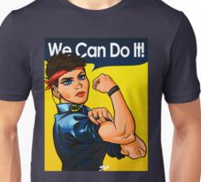 We Can Do It! (Bat Pin) Unisex T-Shirt