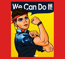We Can Do It! (Heart Pin) Unisex T-Shirt