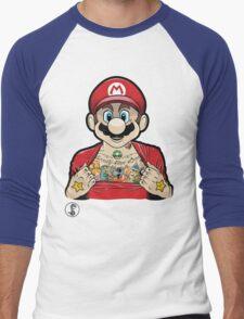 Mario's Got Ink Men's Baseball ¾ T-Shirt
