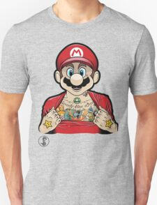 Mario's Got Ink Unisex T-Shirt