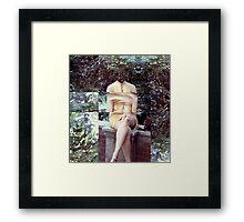 On the Garden Wall Framed Print