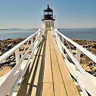Marshall Point Lighthouse I by Marianne Campolongo