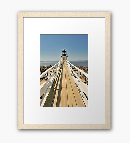 Marshall Point Lighthouse I Framed Print