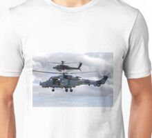 AgustaWestland AW159 Wildcat HMA2 (ZZ515) & Apache AH1 Helicopters Unisex T-Shirt