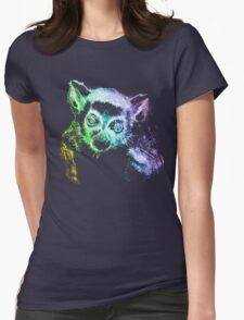 The Last Lemur Womens Fitted T-Shirt