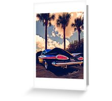 Impala – How The 59 Beat The Pack Greeting Card