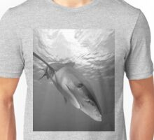 Inquisitive White Tip Shark Unisex T-Shirt