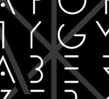 Apoptygma Berzerk - logo 5 Sticker