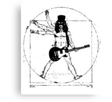 modern rock star and vintage classic art Canvas Print