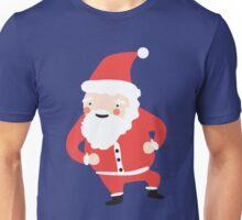 Dancing Santas Unisex T-Shirt
