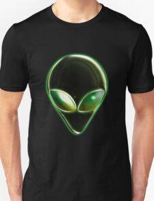 Metal Alien Head 04 Unisex T-Shirt
