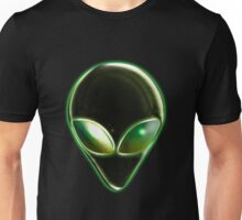 Metal Alien Head 04 Unisex T-Shirt