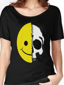 Shreaded Smiley Women's Relaxed Fit T-Shirt