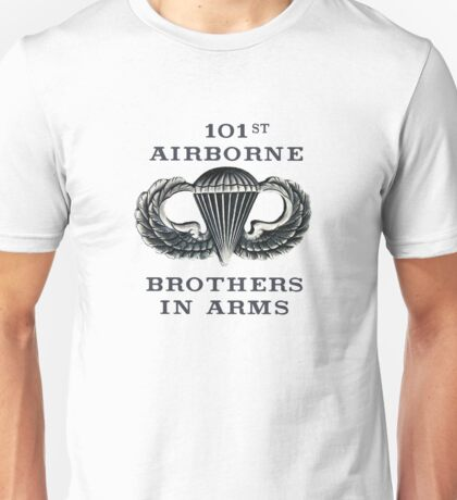 Jump Wings - 101st Airborne - Brothers in Arms Unisex T-Shirt
