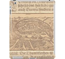Antique Map of Seville Spain iPad Case/Skin