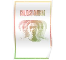 Childish Gambino Phases Poster
