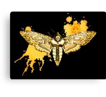 Death's Head Moth Canvas Print