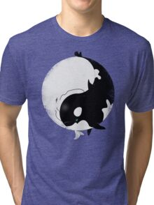 When Willy meets Moby Tri-blend T-Shirt