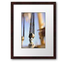 Rigging II Framed Print