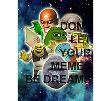Collection of the Dankest Memes Photographic Print