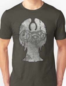 Weeping Angel Design with Circular Gallifreyan T-Shirt