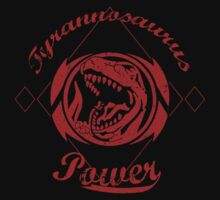 Tyrannosaurus Power One Piece - Short Sleeve