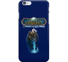 World of Swolecraft: Wrath of the Lift King iPhone Case/Skin