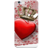 Love is the King iPhone Case/Skin
