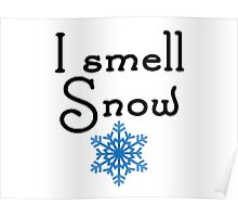 Gilmore Girls - I smell Snow Poster