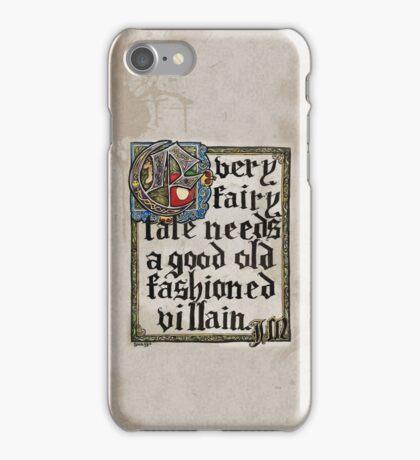 Sherlock Moriarty Calligraphy iPhone Case/Skin
