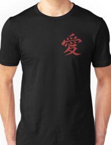 Naruto Gaara Love Symbol Unisex T-Shirt