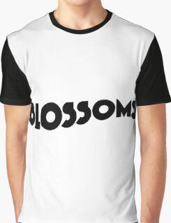 Blossoms Band Logo Black Graphic T-Shirt