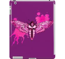 Pink Moth iPad Case/Skin
