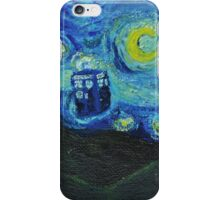 Van Gogh Blue Box iPhone Case/Skin
