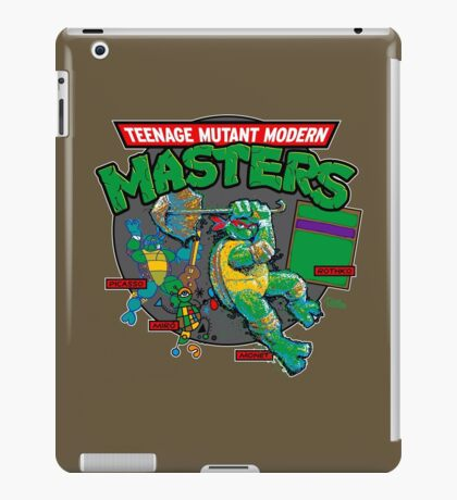 Teenage Mutant Modern Masters iPad Case/Skin