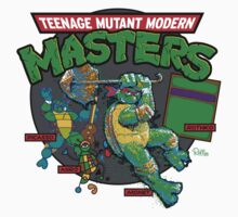 Teenage Mutant Modern Masters Kids Clothes