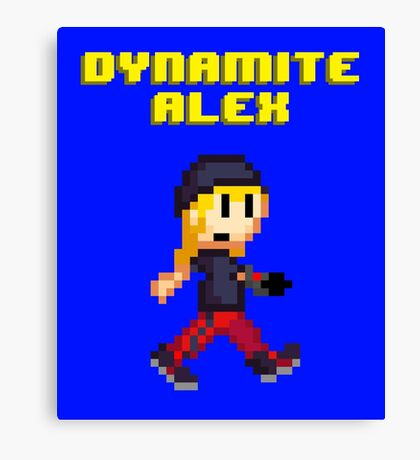Dynamite Alex Canvas Print