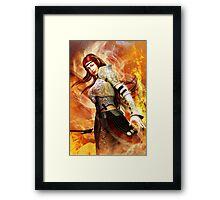 Fire Elf Framed Print