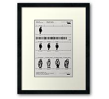 Skool Daze Framed Print