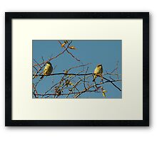 Well, I'm Not Speaking To You, Either! Framed Print