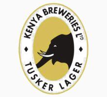 TUSKER BEER LAGER KENYA Kids Tee