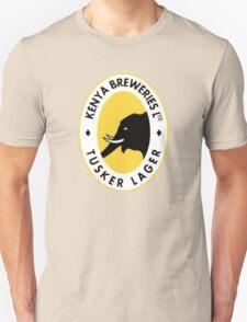 TUSKER BEER LAGER KENYA Unisex T-Shirt