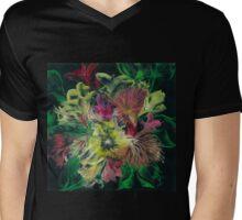 Sunshine Bouquet Mens V-Neck T-Shirt