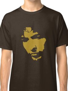 black and gold music legend silhouette Classic T-Shirt
