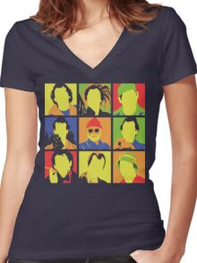 Bill Women's Fitted V-Neck T-Shirt